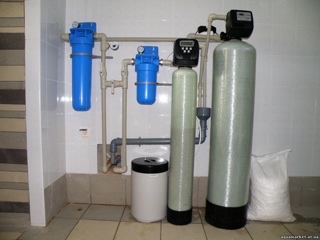 Система очистки воды в коттедже своими руками